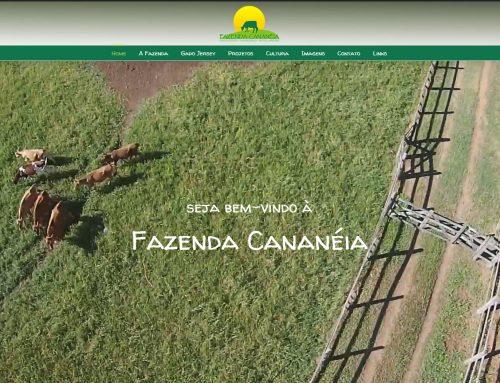 Novo website da Fazenda Cananeia