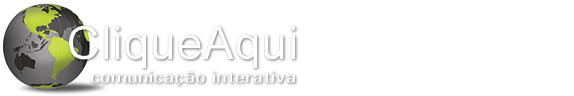 CliqueAqui Comunicação Interativa Logotipo